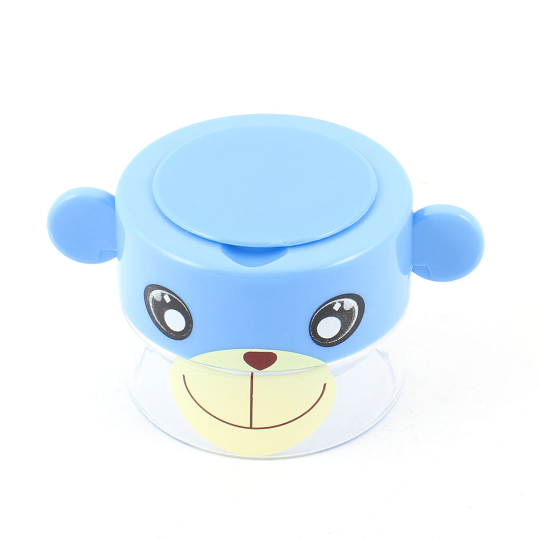 Travel Blue Clear Plastic Monkey Pattern Pill Tablet Crusher Case
