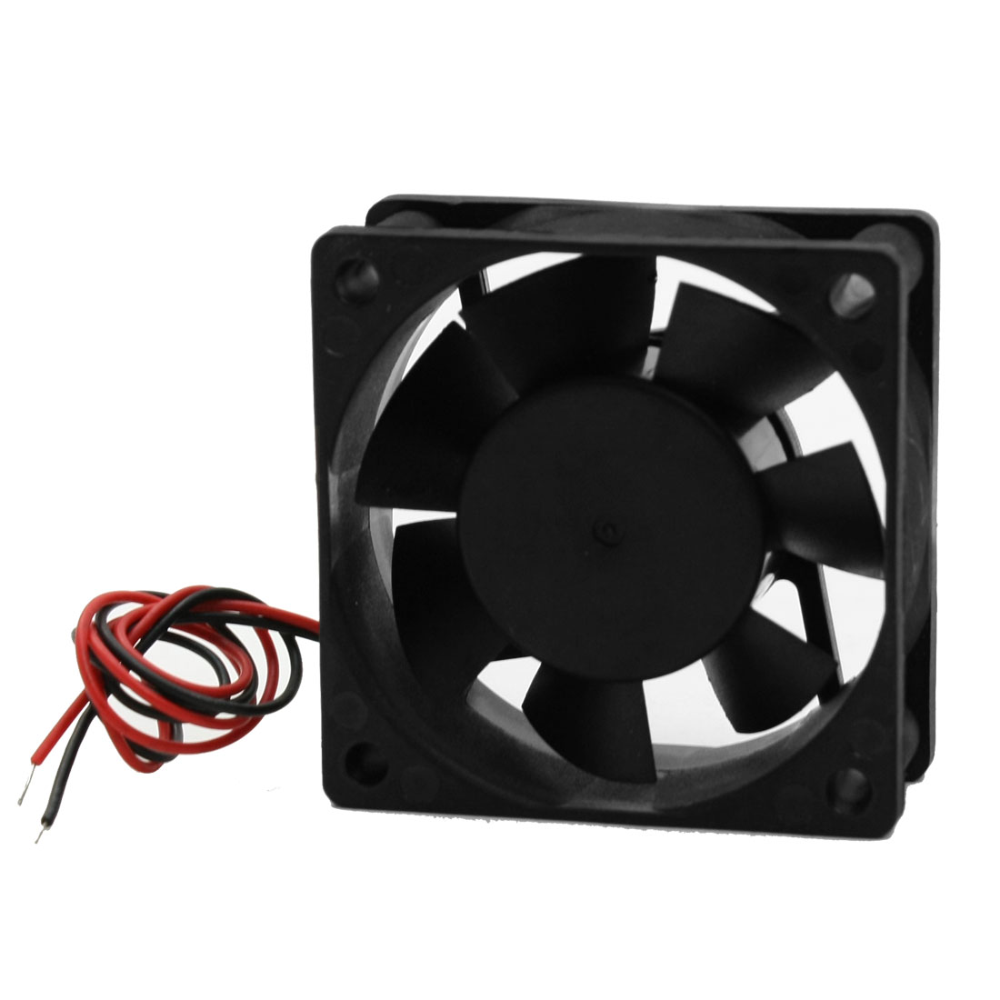 12V DC 0.13A 60 x 60 x 25mm 2 Wire Computer PC CPU Cooling Case Fan