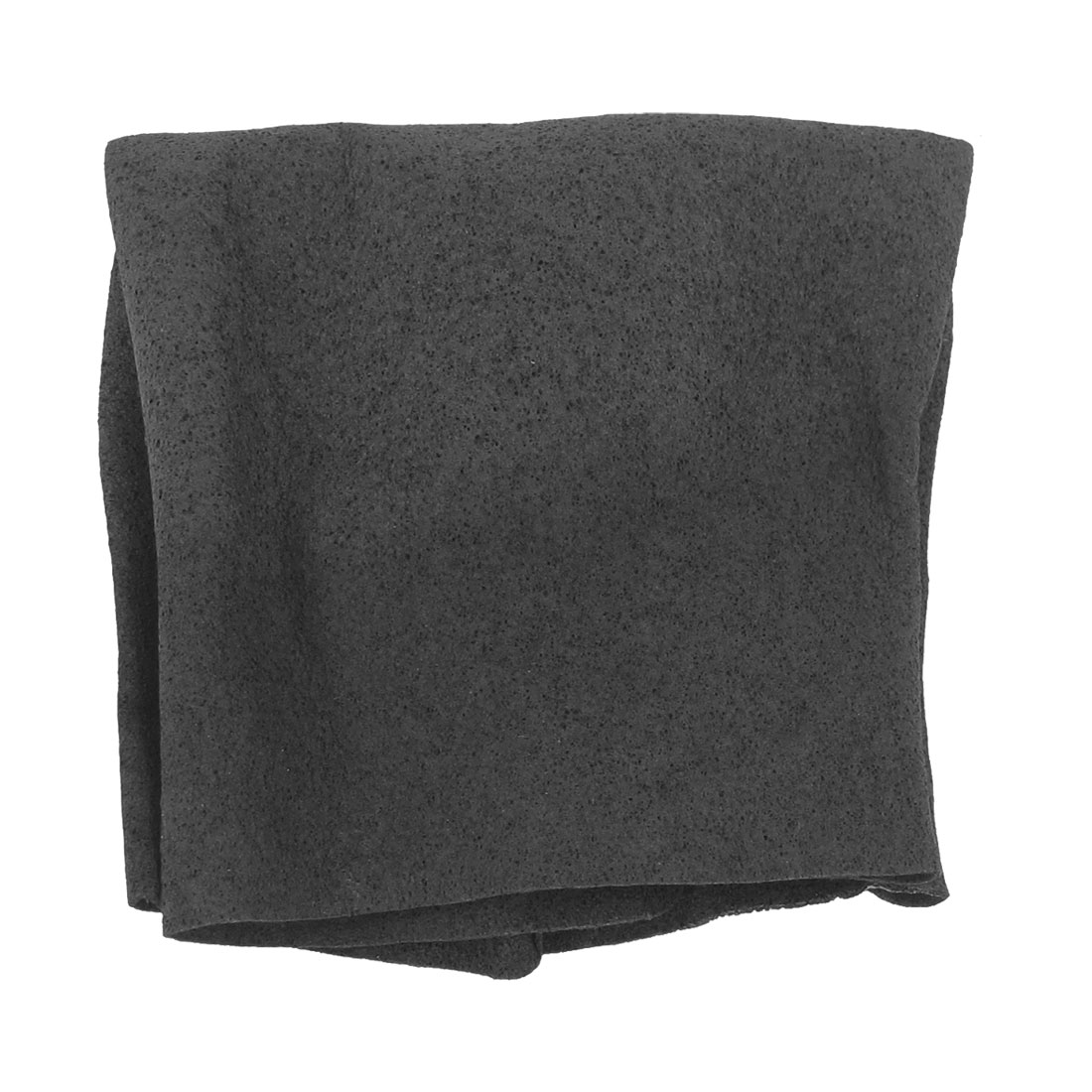 Black Elastic PVA Activated Carbon Makeup Bath Beauty Towel