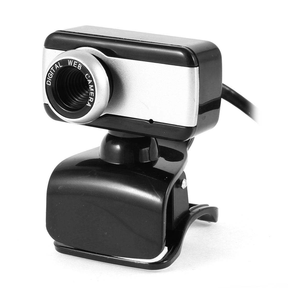Clip 1004x1004 1.3 Mega Pixels Camera USB2.0 MIC Webcam Black for PC