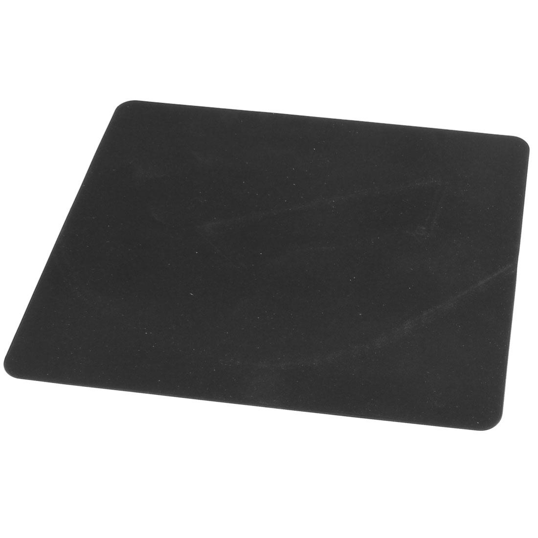 Black Nonslip Silicone Desktop Computer Mouse Pad Mat