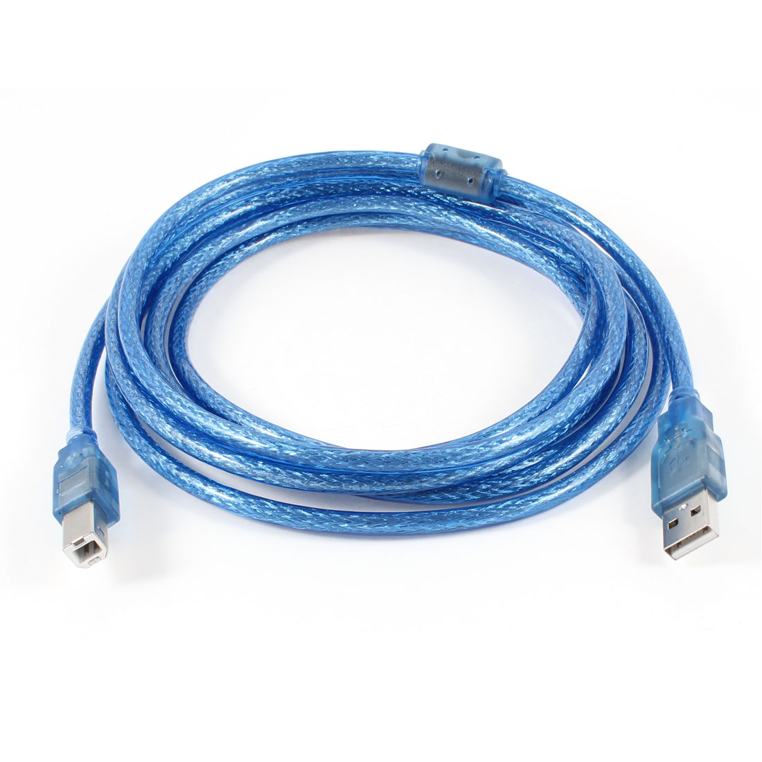 3 Meter USB2.0 A Male to B Male Printer Extension Cable Blue