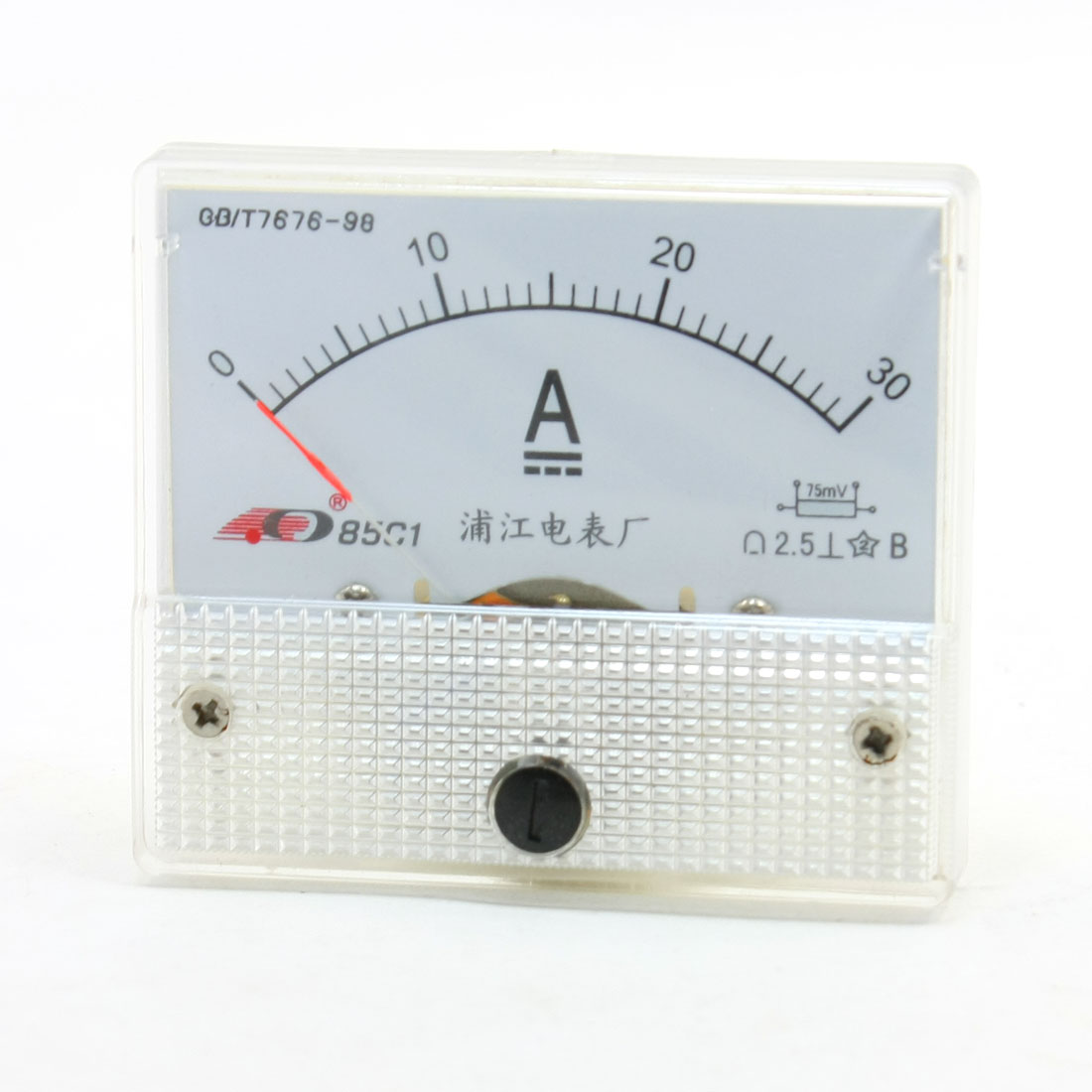 DC 0-30A Fine Tuning Dial Panel Ampere Meter 85C1