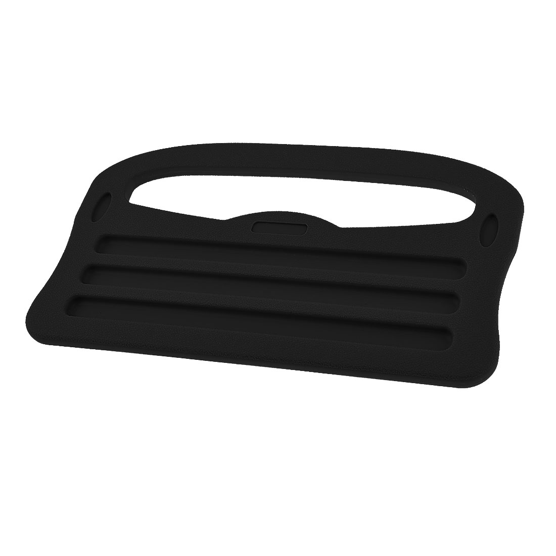 Car iPad Support Stand Dining Food Table Steering Wheel Drink Holder Tray Black