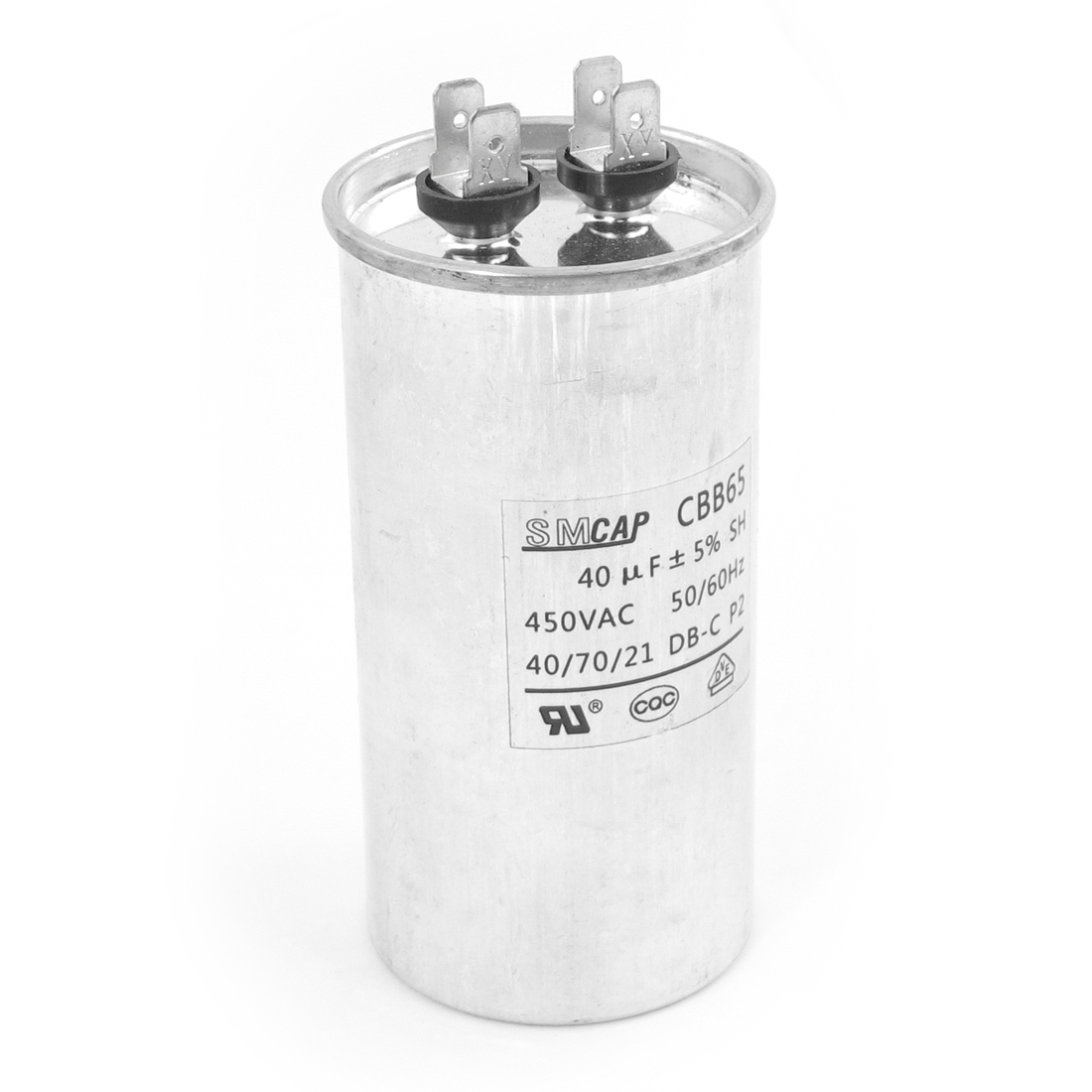 Air Conditioner CBB65 40uF AC 450V Round Motor Run Capacitor