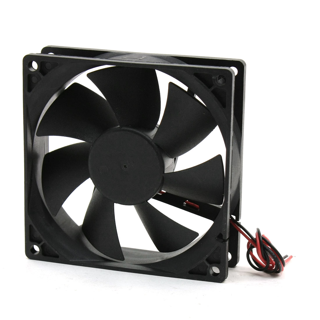92mm x 92mm x 25mm Plastic Axial Cooling Fan DC 24V