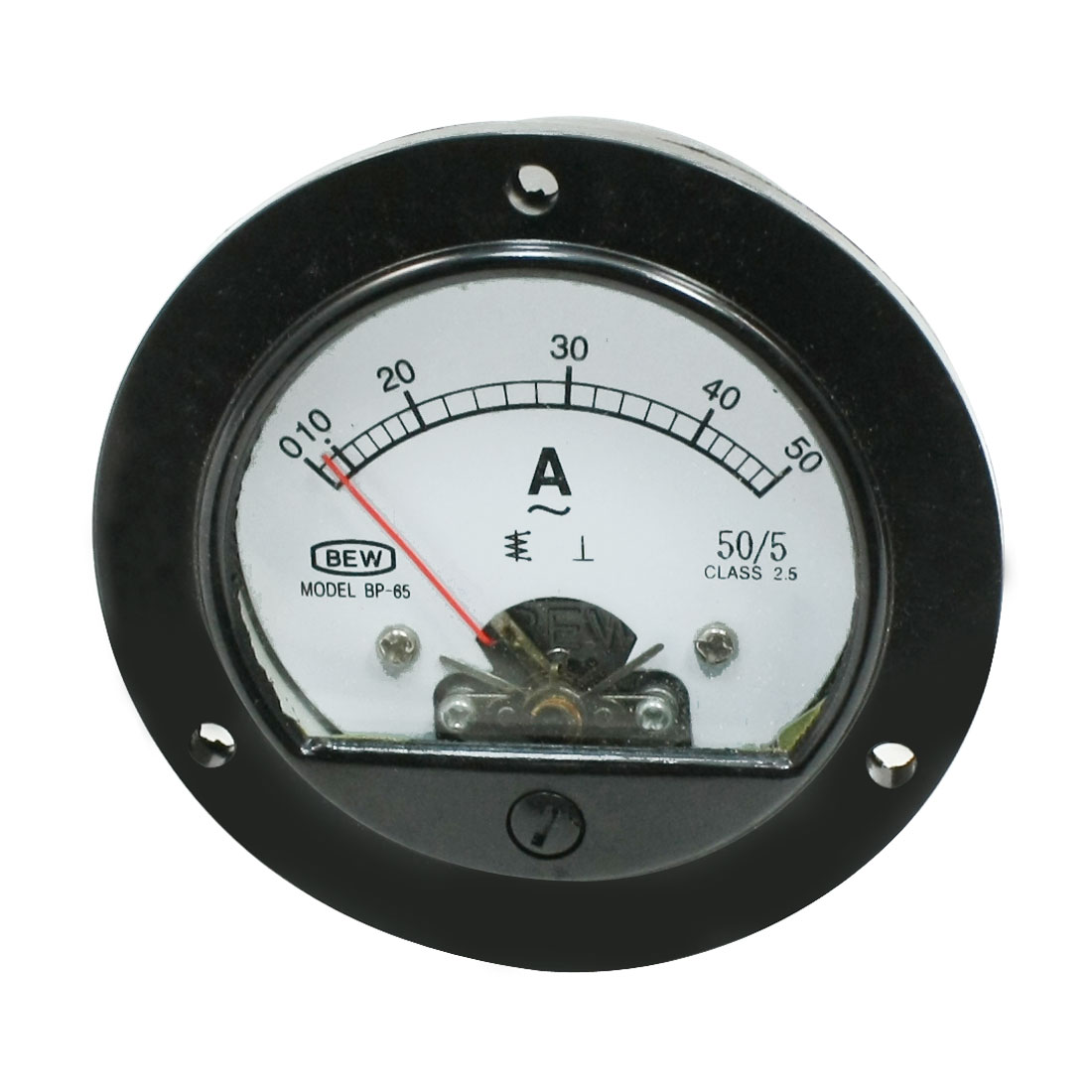 Class 2.5 Accuracy BP-65 AC 0-50A Round Analog Panel Meter Ammeter