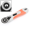 Orange Gray Plastic Flexible Safeguard Rotary Cutter 28mm Diameter