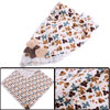 Sweet Cartoon Puppy Pattern Off-White Square Napkins