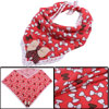 Lovely Watermelon Red Bowtie Pattern Party Square Napkins
