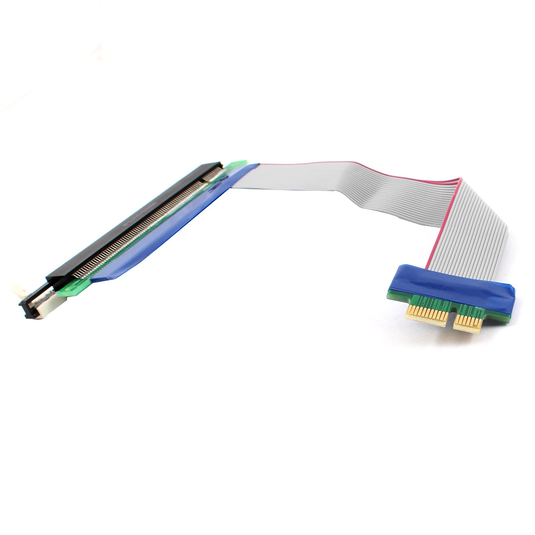 PC PCI-Express PCI-E 16X/1X Riser Card Flex Extension Cable Ribbon