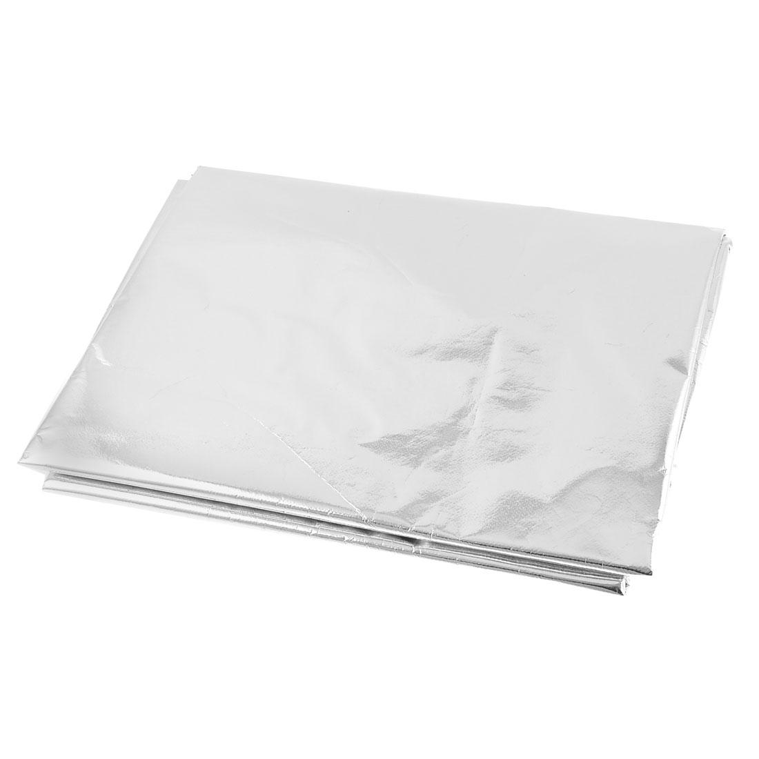 Auto Refective Windshield Front Window Visor Sunshade Silver Tone