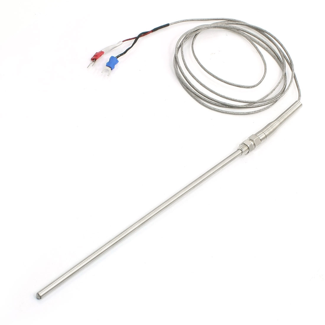 2M 6.5Ft K Type 800C Thermocuple Temperature Measurement Sensor Probe