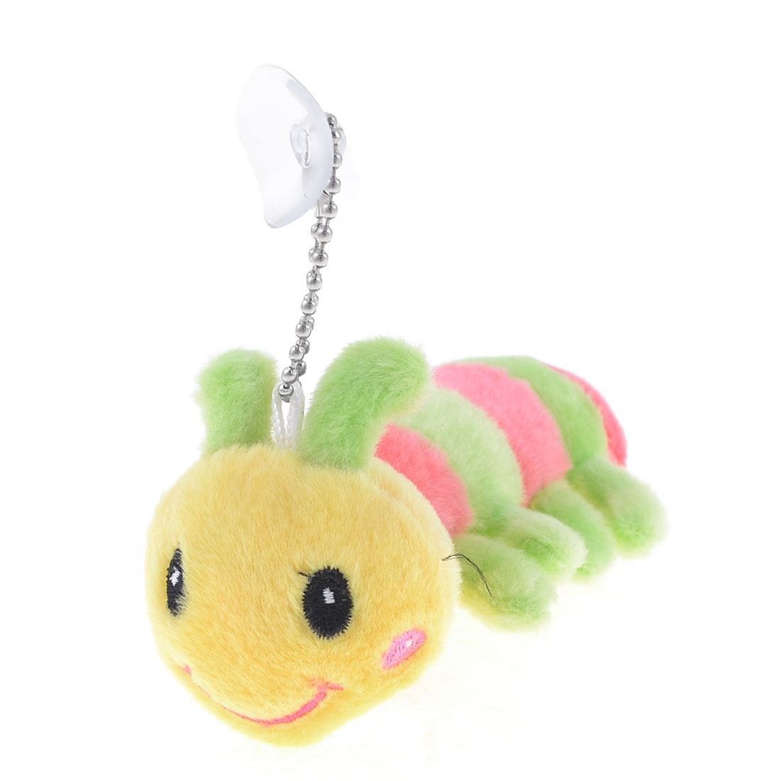 Yellow Green Pink Plush Stuffed Ant Suction Cup Toy Pendant