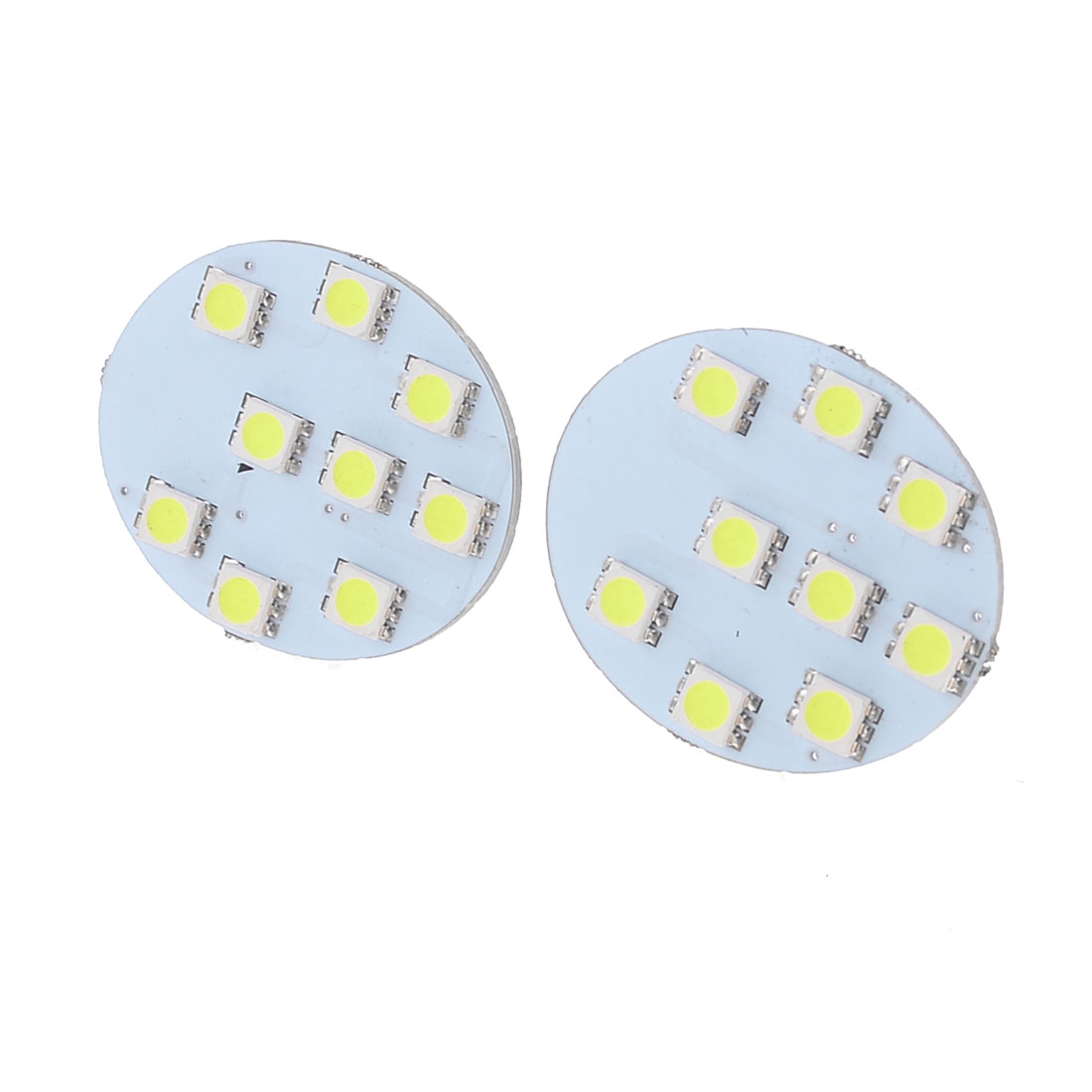 Pair White 5050 SMD Car Interior Rear Dome Reading Light for Camry
