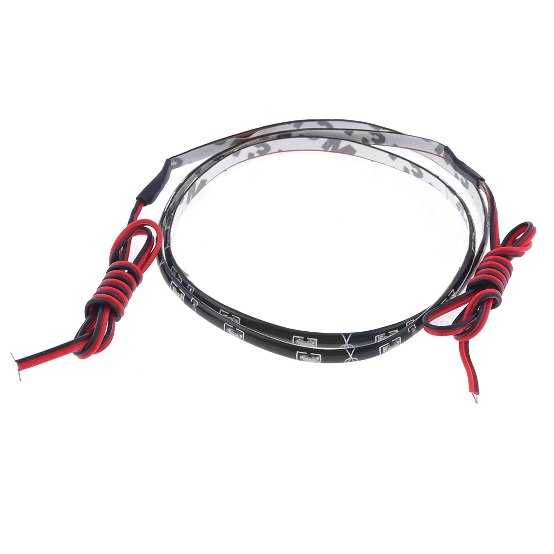 Car Red SMD 30 LED Flexible Strip Bar Light Lamp DC 12V 60cm