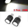 2 Pcs 20W 1156 BA15S White SMD LED Turn Back Up Fog Light Lamp Bulb
