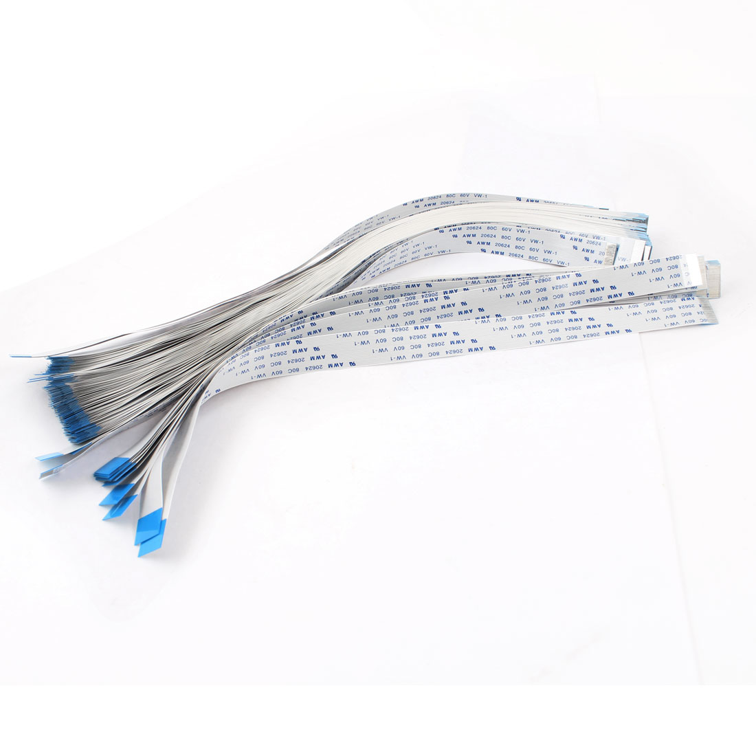 100 Pcs 24 Pins 0.5mm Pitch Flexible Flat Cable FFC 250mm Length