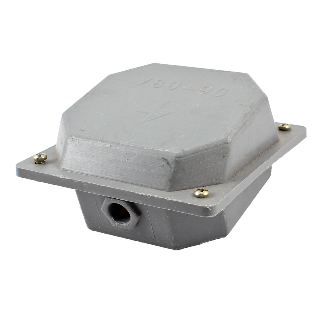 Surface Mounted Sealed Plastic Electric Junction Box Gray