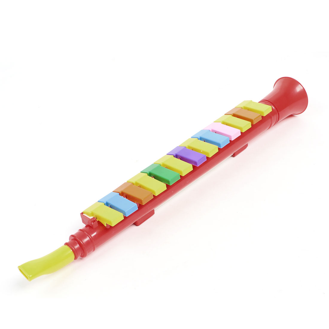 Multicolor Plastic 13 Keys Note Melodica Mouth Organ Wind Piano