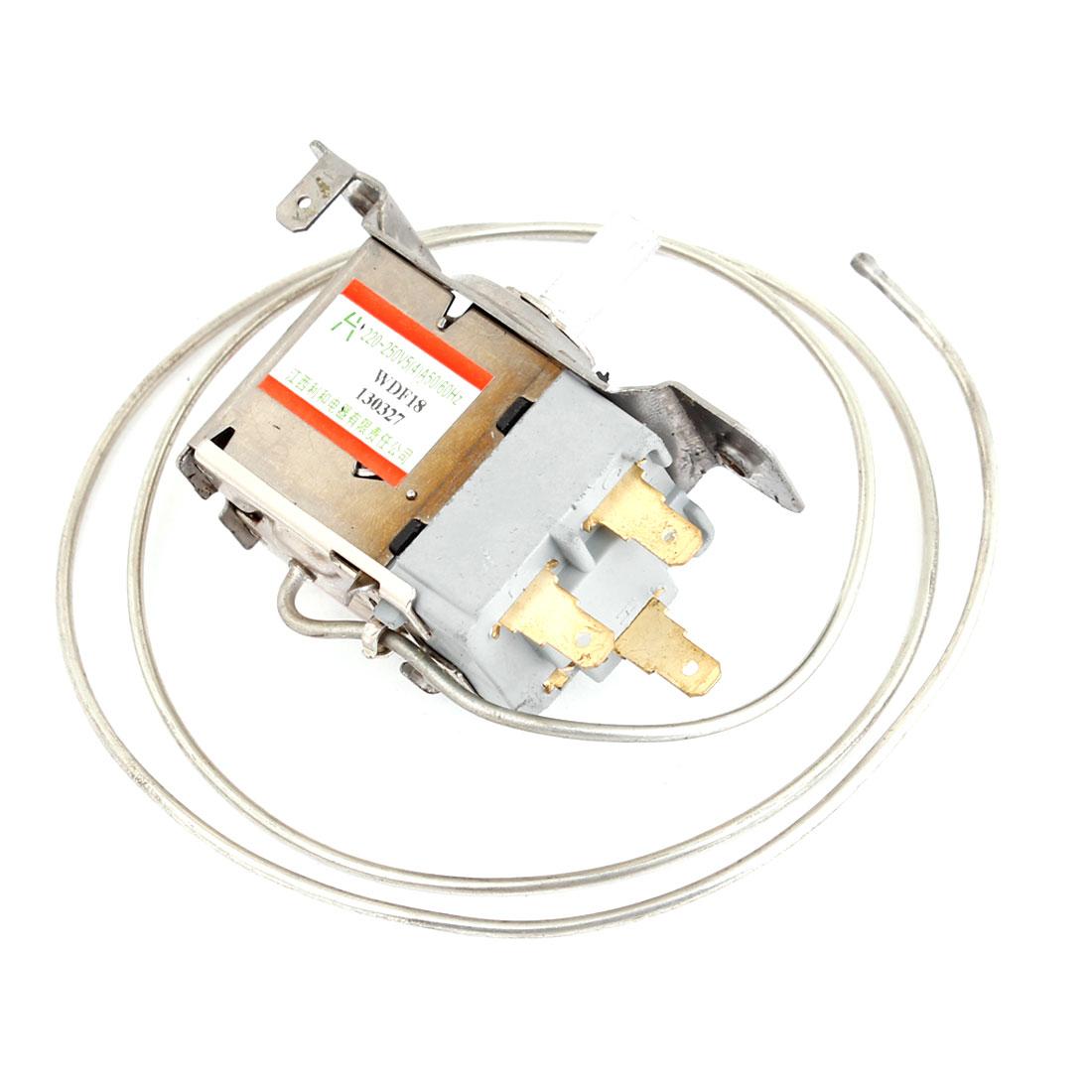 AC 220-250V 5A 3 Terminals Refrigeration Thermostat for Refrigerators