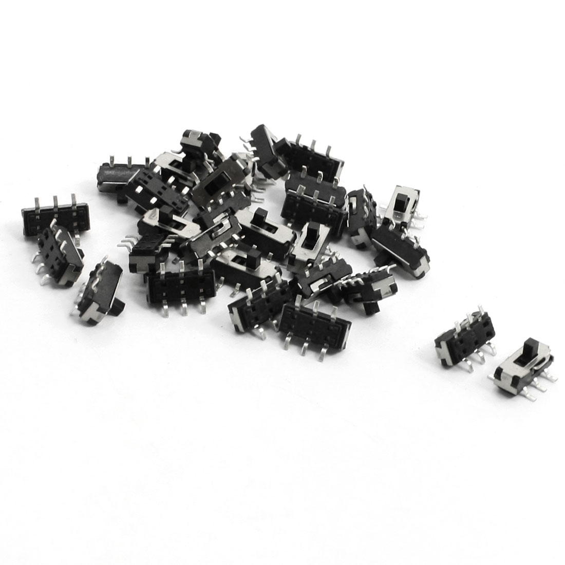 30pcs 9x3.6x5.2mm SMT SMD Self Locking Micro Slide Tact Tactile Switch