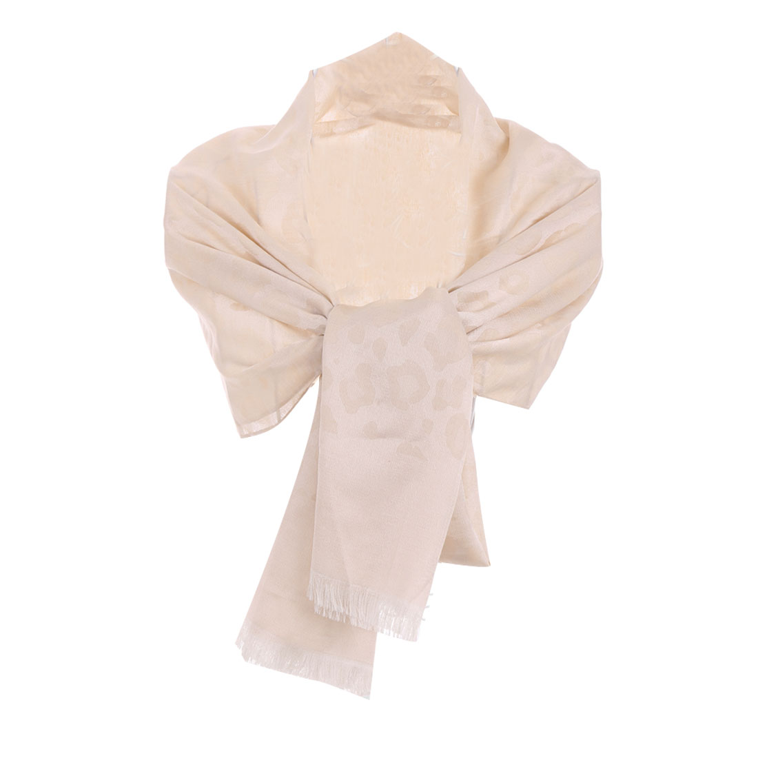 Stylish Easy-matching Soft Semi-sheer Light Pink Scarf For Lady