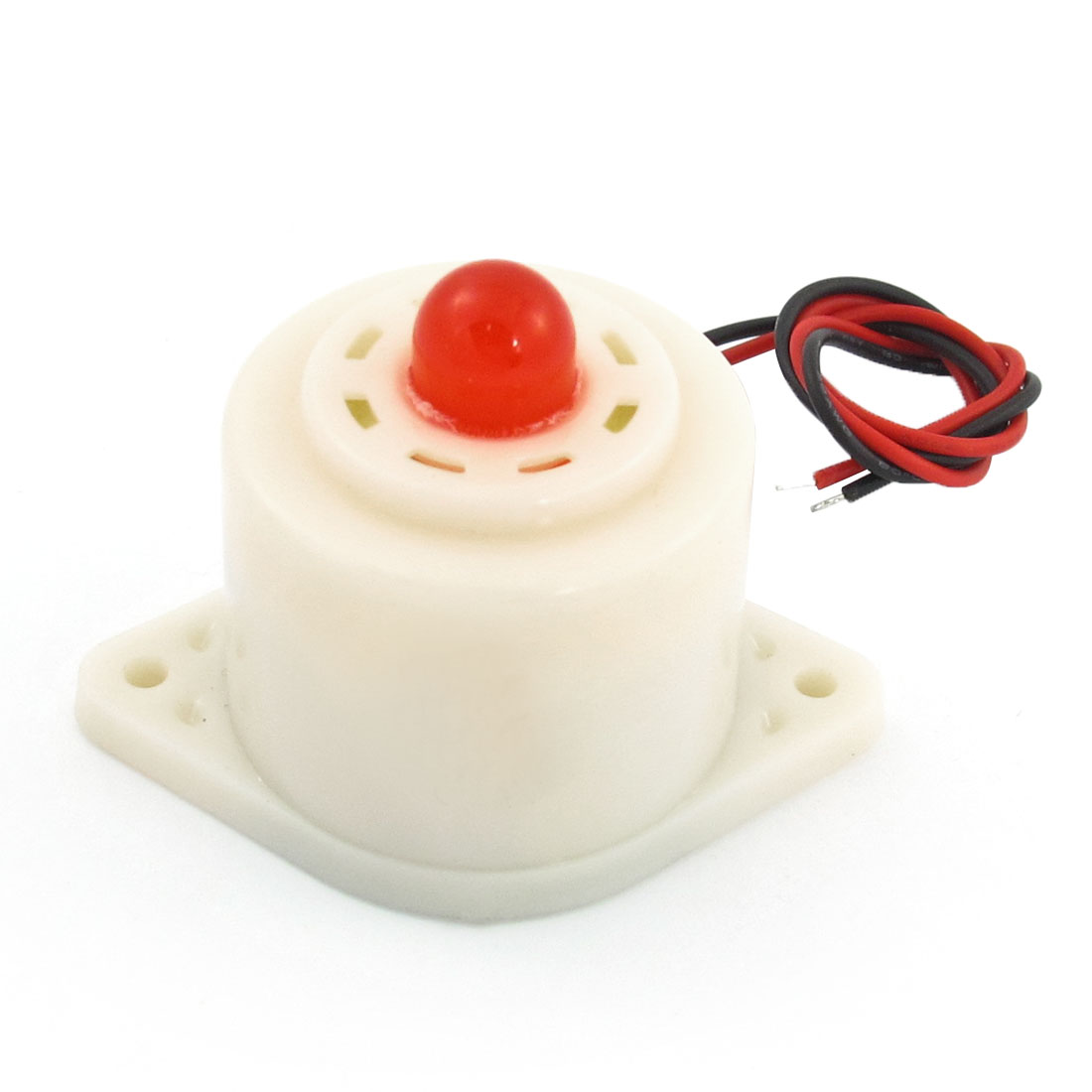 BZQ-3D DC 24V Industrial Red LED Flashing Alarm Buzzer Siren 110dB