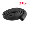 "2 Pcs 6Ft Long Foam Hose 5/8""x3/8"" Air Conditioner Heat Insulation Pipe Black"