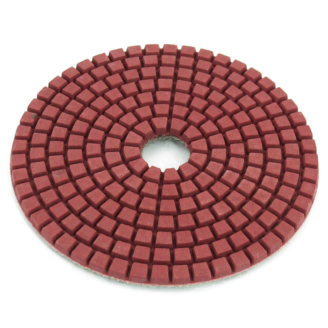 Rosy Brown Disc Shaped 400 Grit Wet Dry Diamond Polishing Pad