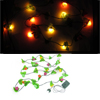 Yellow Red Light Strawberry Design Pendant Christmas LED String Decor