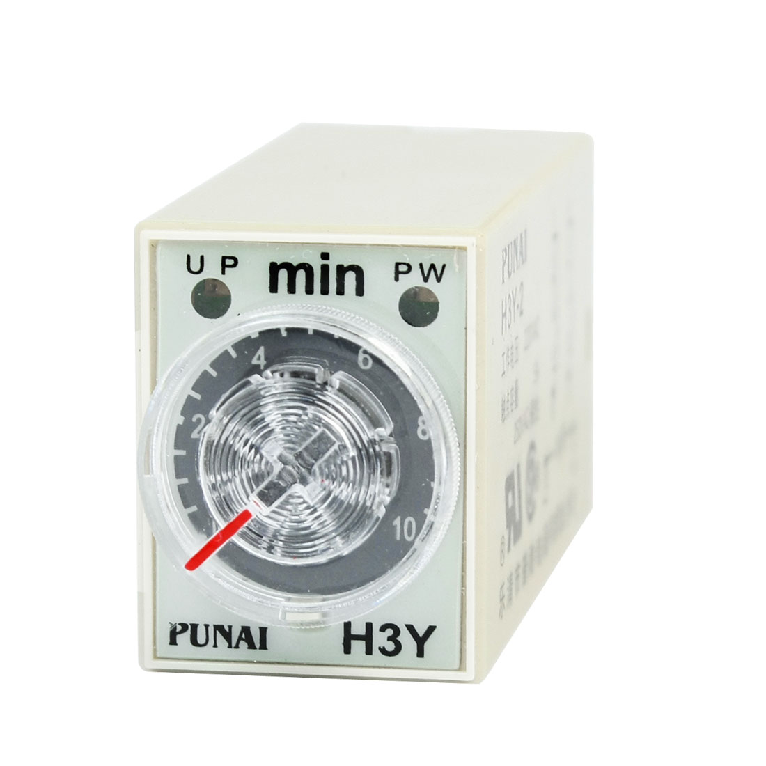 DPDT 8 Pin Connector 10 Minutes H3Y-2 Time Delay Relay AC 220V