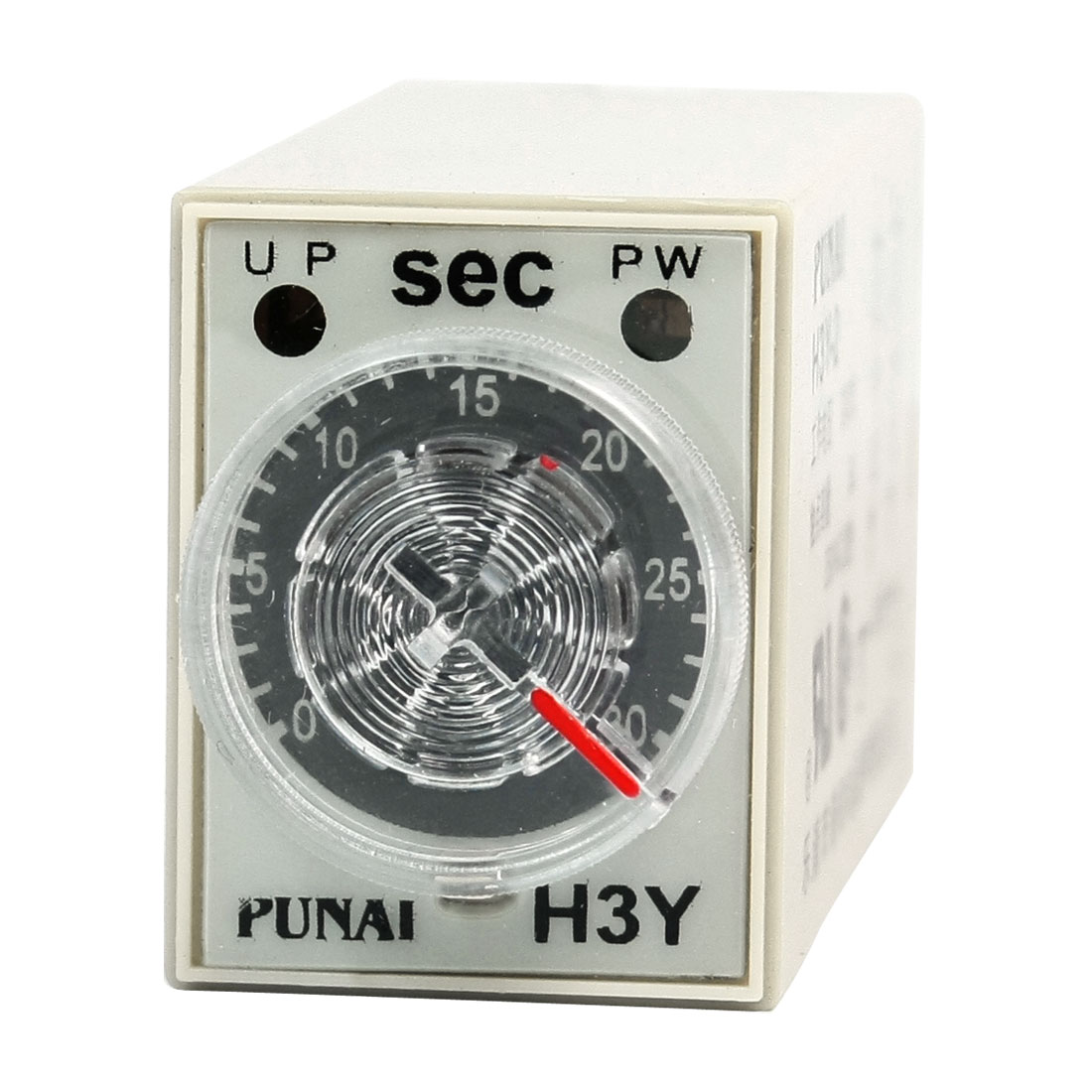 24VDC DPDT Knob Control 30 Second Time Delay Relay H3Y-2 8Pin