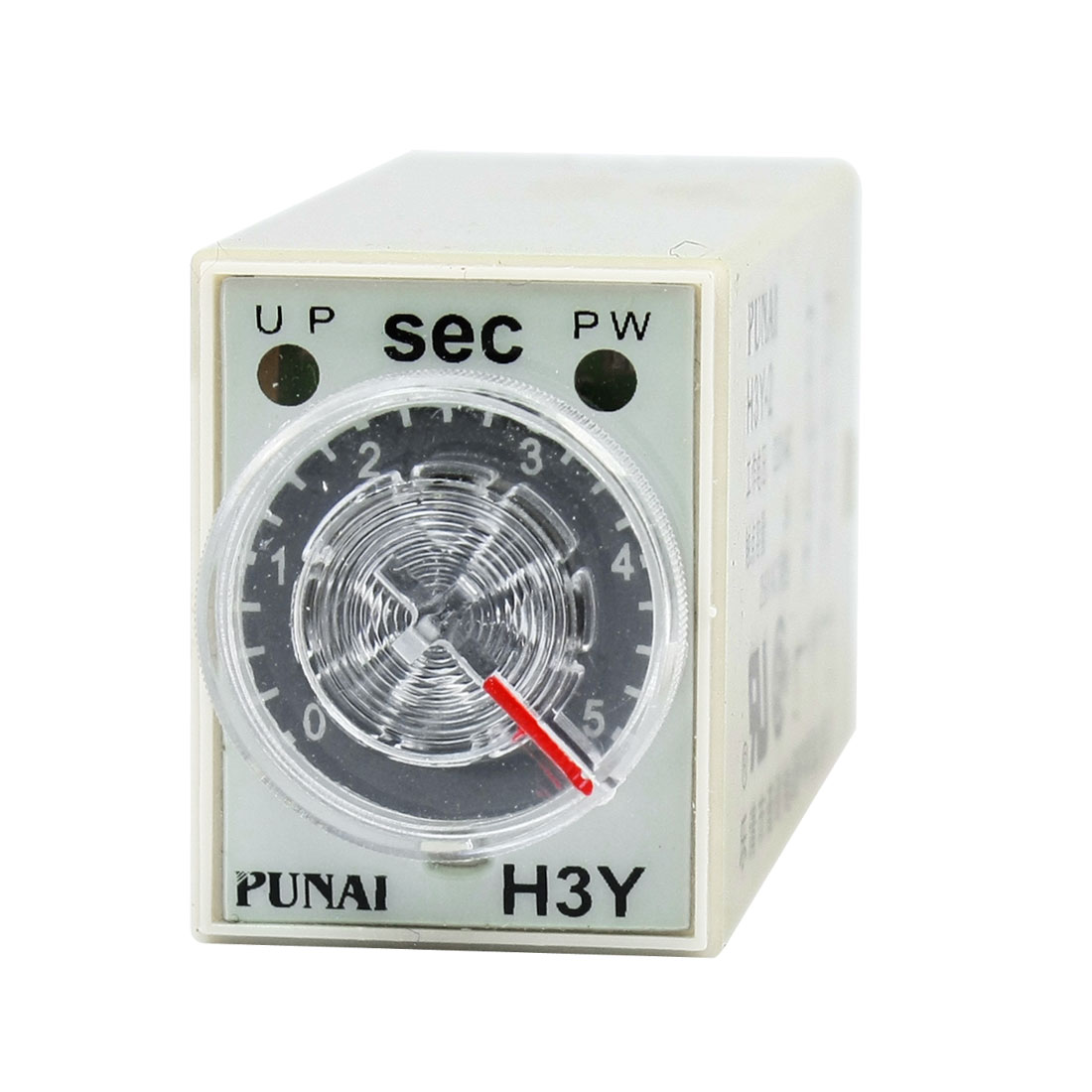Adjustable 5s Seconds Timing Delay Range DPDT 220VAC H3Y-2 Time Relay