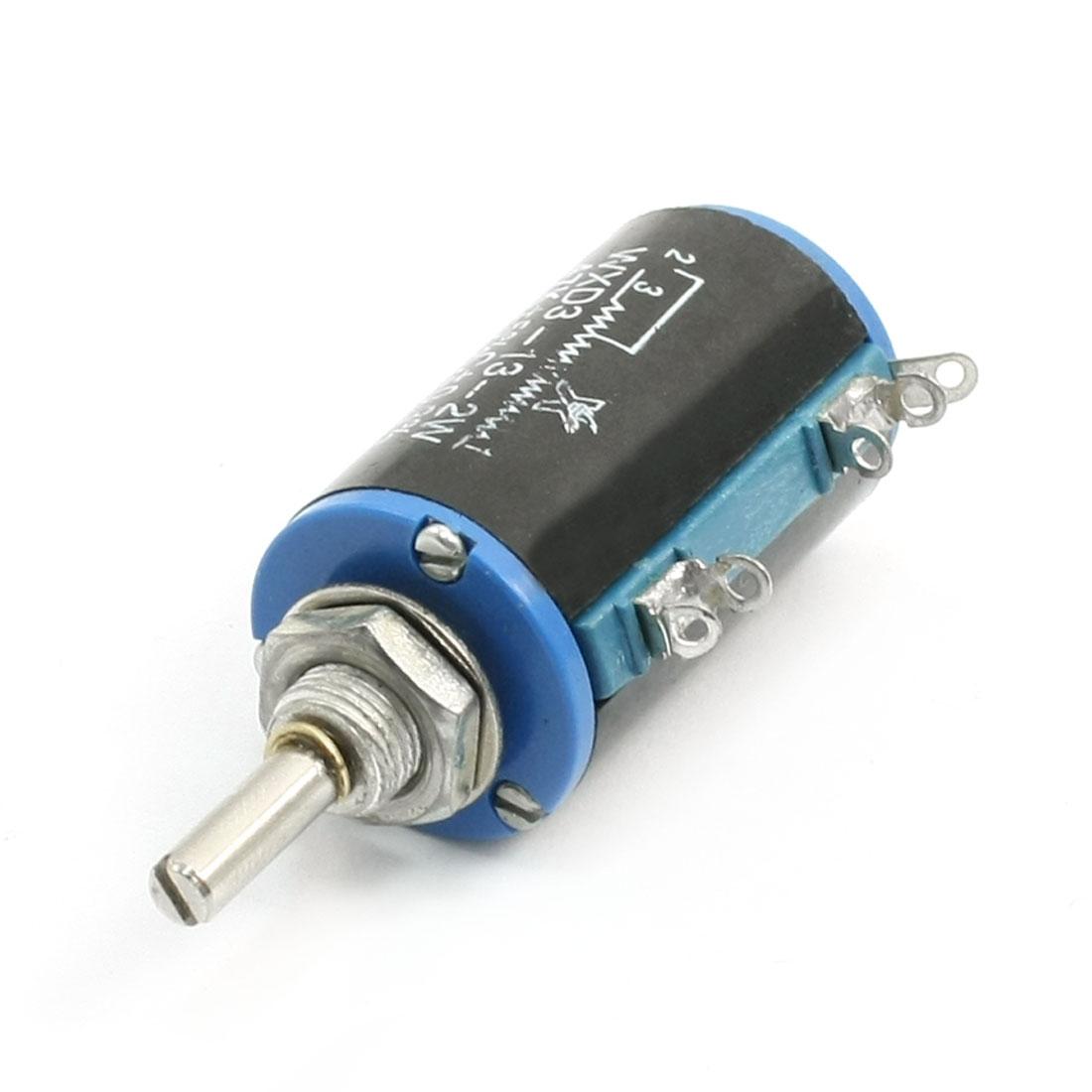 WXD3-13-2W Multi-Turn Wirewound Rotary Potentiometer 47K Ohm