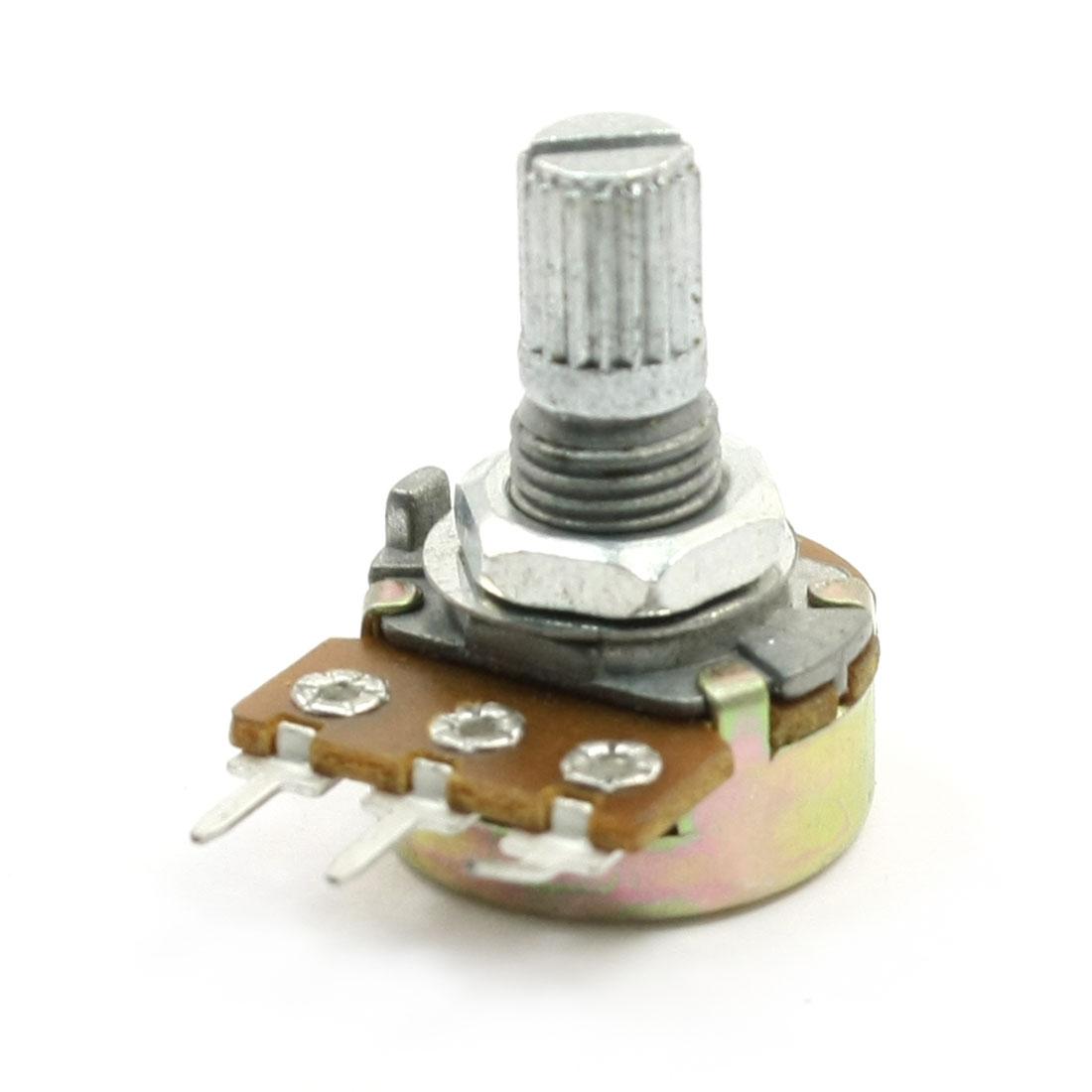 B50K 50K Ohm Adjustment Single Linear Rotary Taper Potentiometer