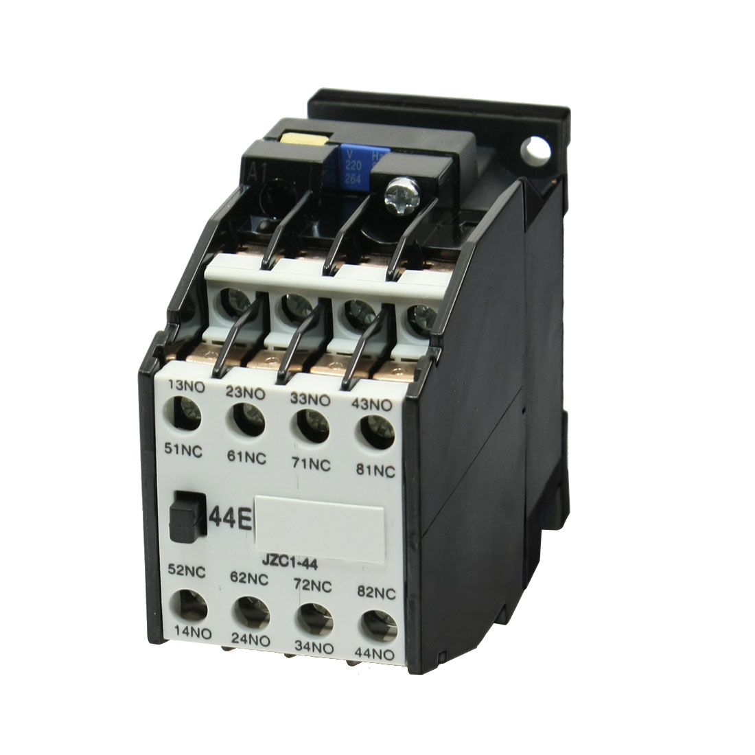 JZC1-44 Ui 660V Ith10A 4 Poles Auxiliary Contactor Relay