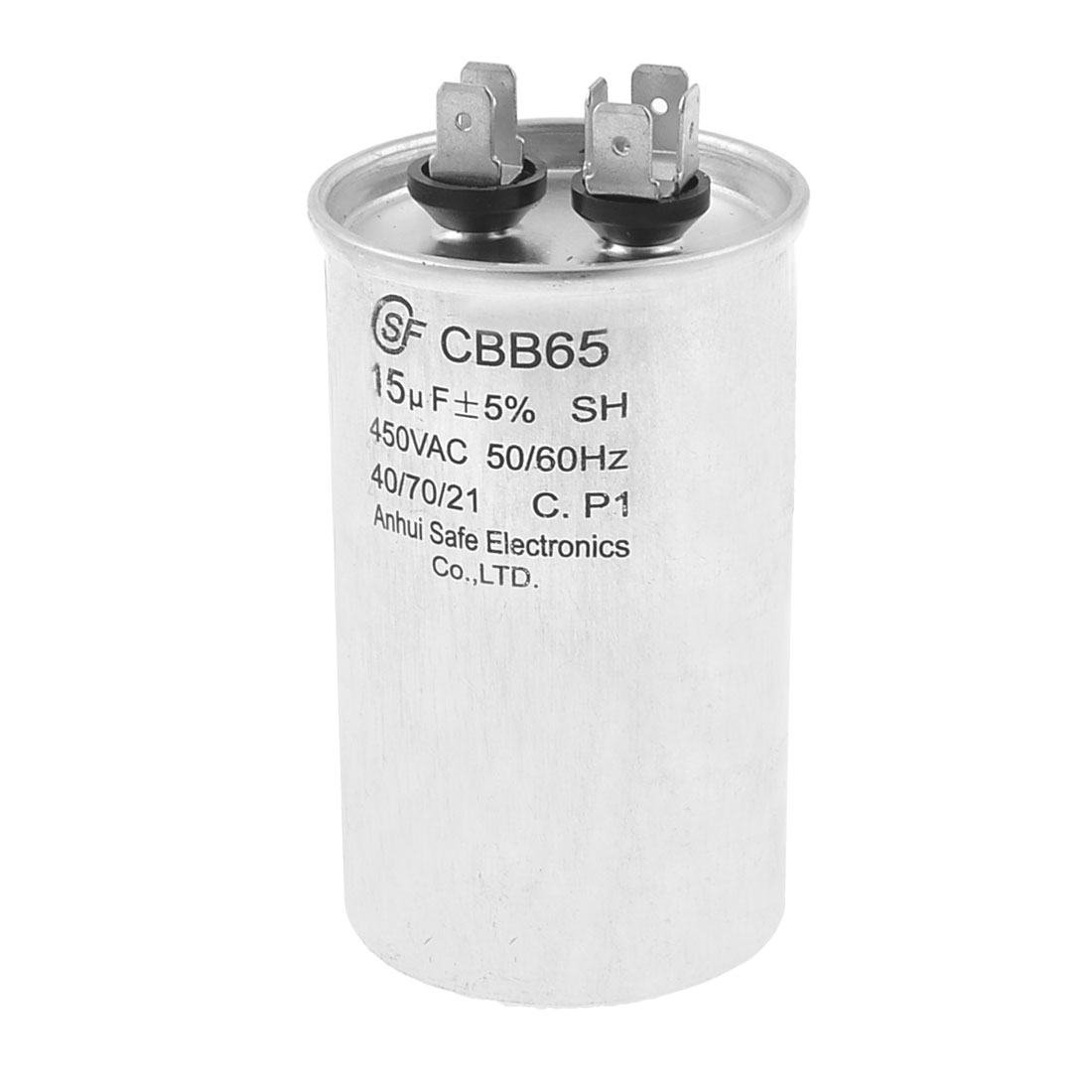 CBB65 450VAC 15uF Motor Run Air Conditioner Capacitor