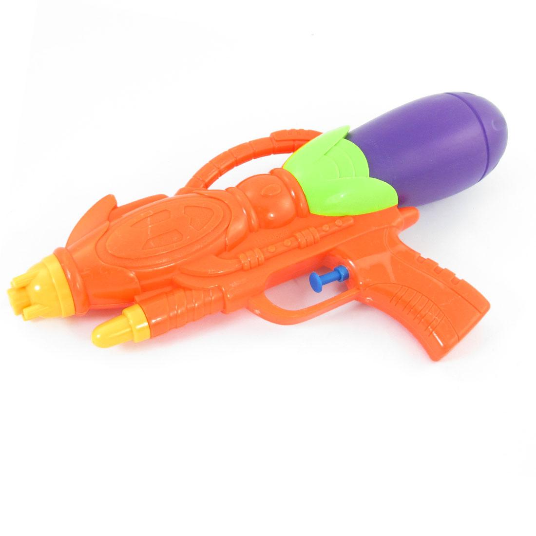 Purple Green Plastic Pump Pressure Water Toy