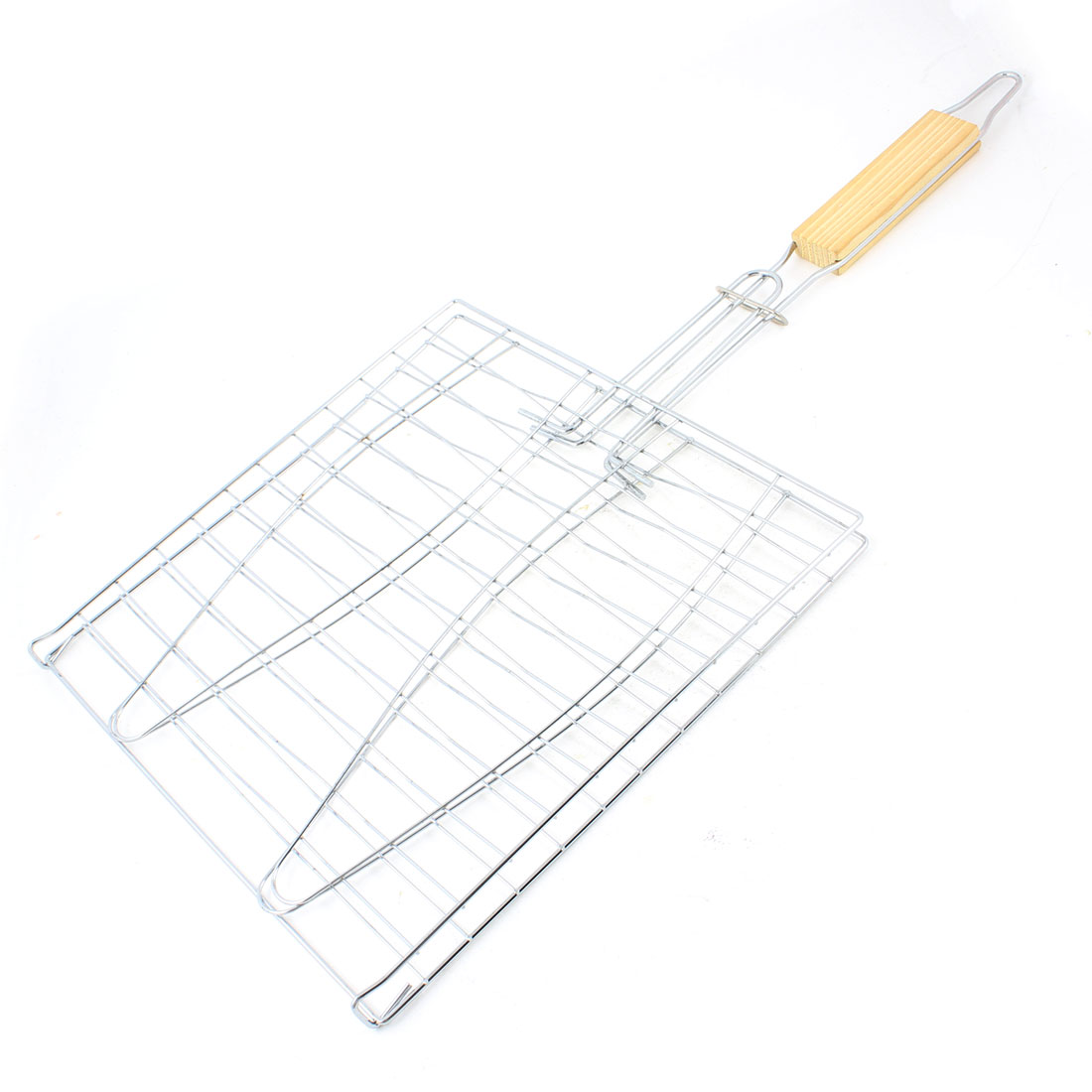 Outdoor Backyard Cooking Grilling Barbecue Net Basket 24cm x 24cm