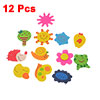 12 Pcs Refrigerator Colorful Wooden Moon Bee Snail Magnetic Sticker