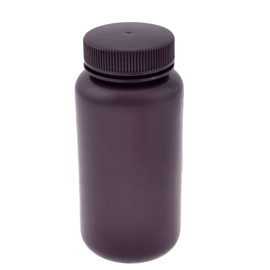 500ml Brown Plastic Cylinder Shaped Chemical Reagent Bottle