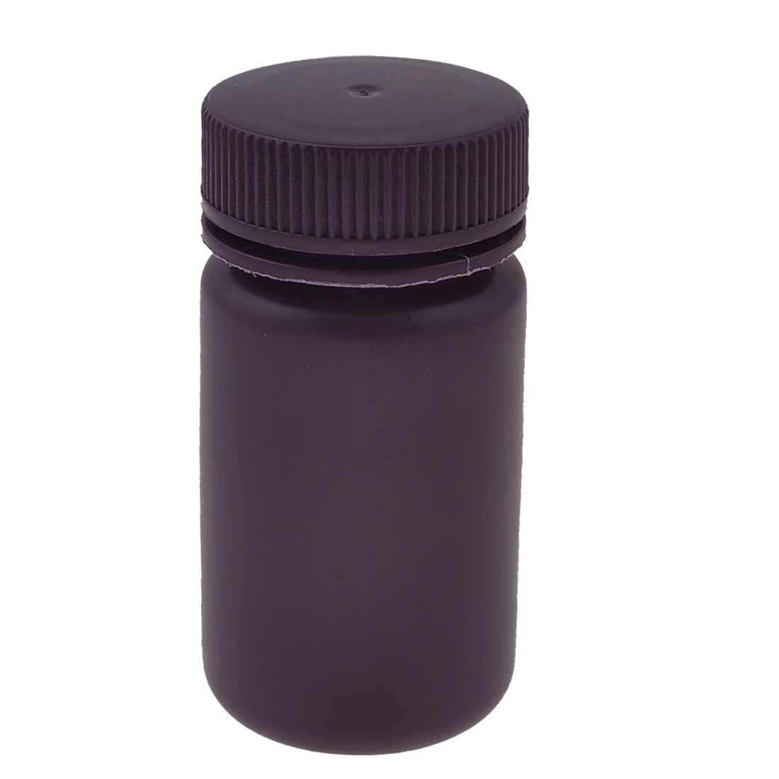 125ml Brown Plastic Cylinder Shaped Chemical Reagent Bottle