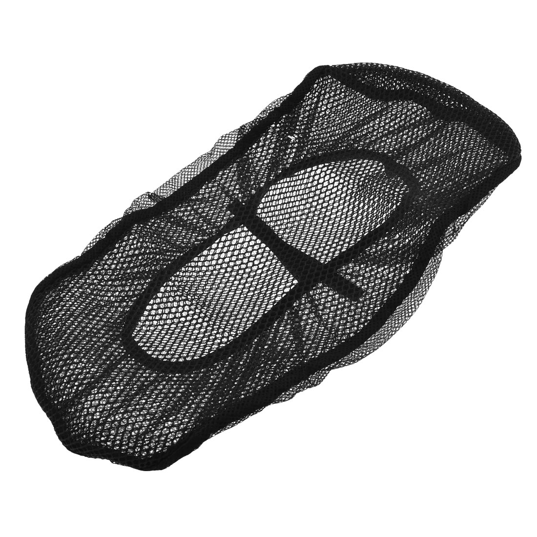 Black Mesh Type Soft Tertolon Seat Cushion Size A for Men Honda CG125
