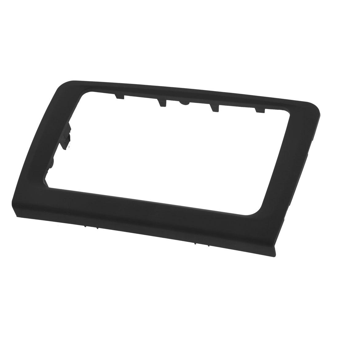 Black Plastic Sudio Stereo System DVD Holder Frame for Volkswagen Superb