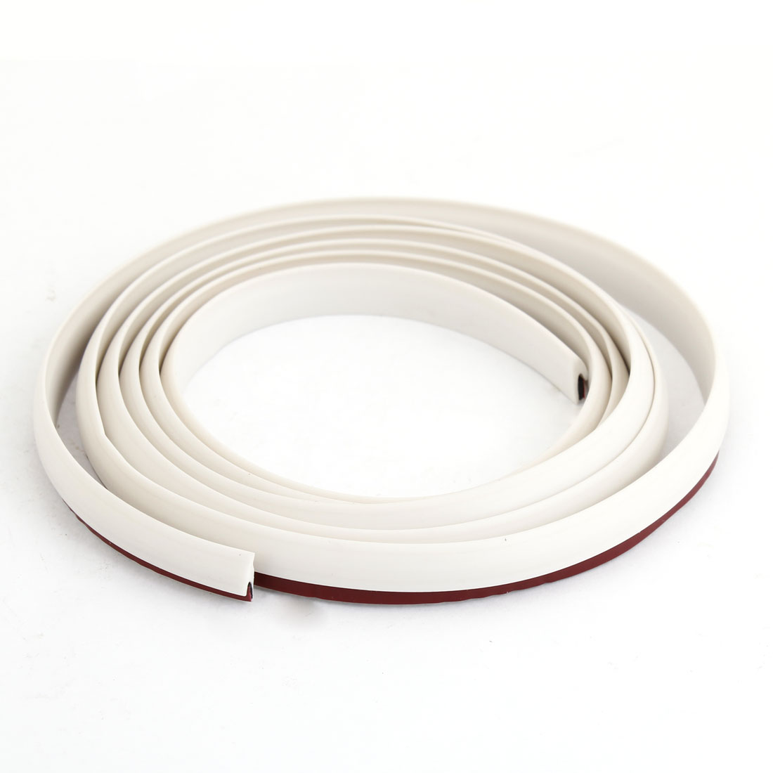 168cm Long White Rubber Strips Air Sealed Door Guards Buffers for Cars