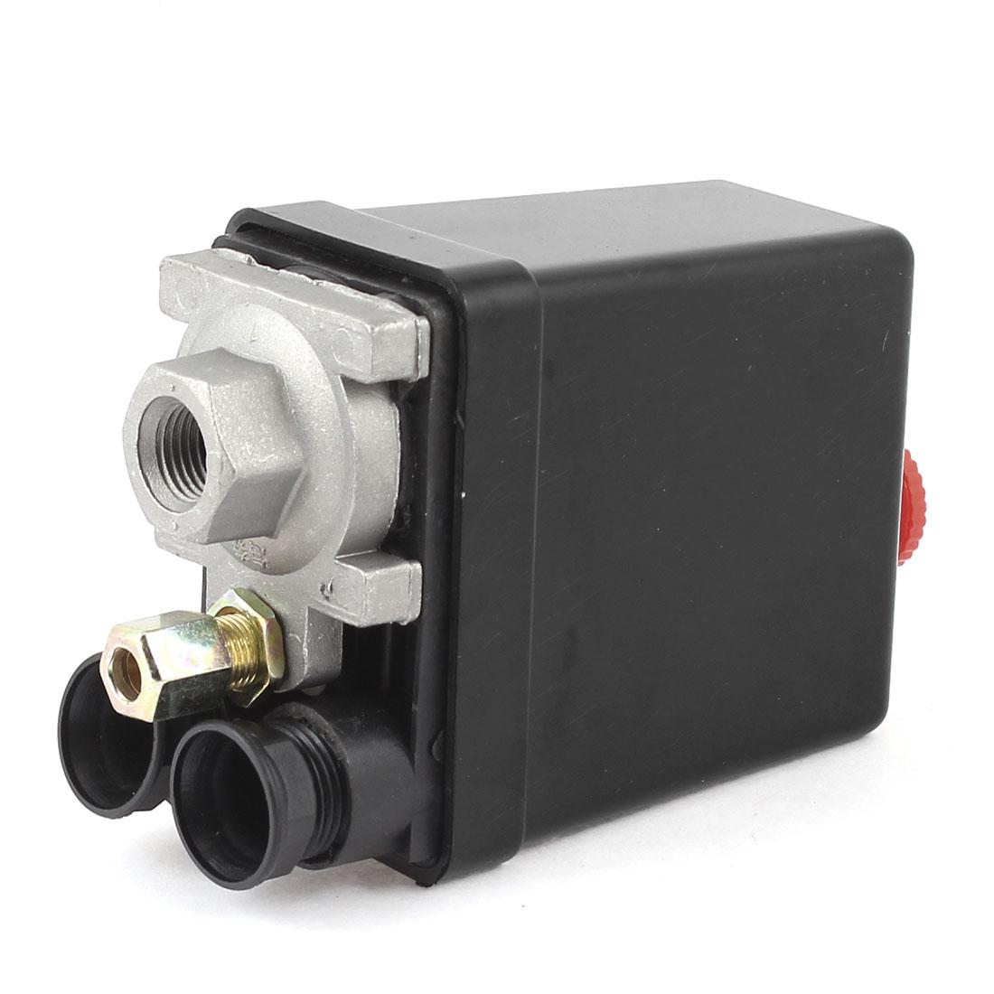 Air Compressor Pressure 240V 20A PSi 175 12 Bar Control Switch Black