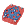 Blue Red Nonslip Metal Foot Auto Van Car Gas Clutch Brake Pedal Pad Cover