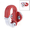 Red Metal Screw Fixation Shopping Bag Holder Motorcycle Hook