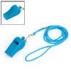 Sports Referee Game Blue Long Lanyard Plastic Whistle Toy